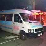 Winkers night club Free shuttle bus